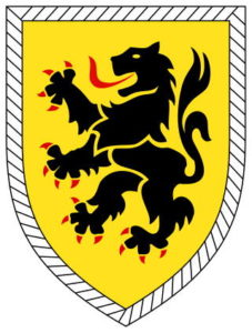 Эмблема 10 танковой дивизии бундесвера