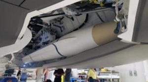 ПР УР AARGM ER в самолете F-35