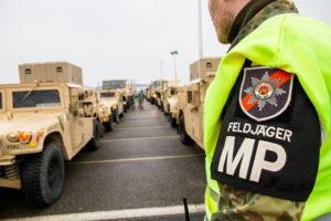 Пост военной полиции бундесвера