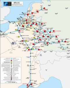 Военные трубопроводы Центральной Европы