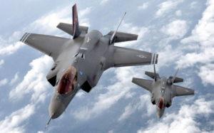 Американский истребитель F-35 Lightning II