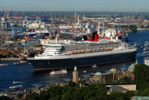 Немецкий порт Гамбург