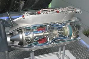 Турбореактивный двигатель ТРДД-50АТ