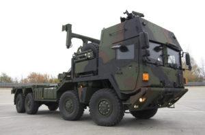 Защищенный специальный автомобиль Multi A4