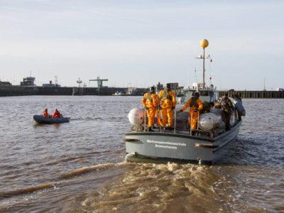 Тренировка на реке Везер