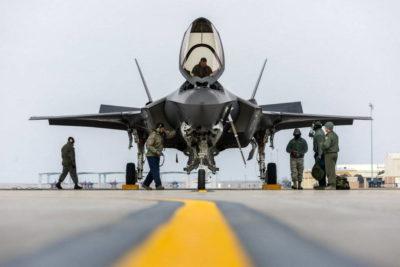 """F-35 на учениях """"Red Flag"""""""