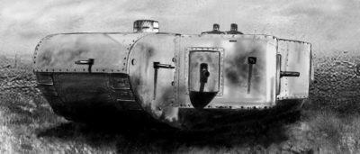 Тяжелый танк K-Wagen