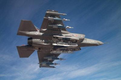 Оружие на внешней подвеске F-35