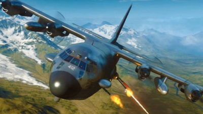AC-130 с лазерным оружием