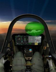Кабина F-35