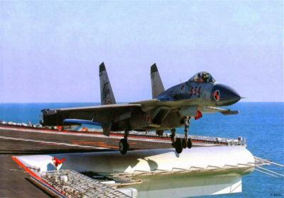 истребителей «Цзянь» J-15