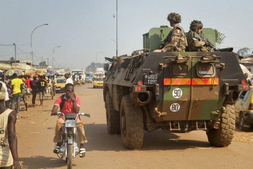 Франция в Африке