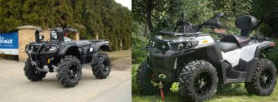 King 750 AXI и 4x4-ATV Quad