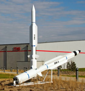 """Ракеты-перехватчики """"Стандарт 3"""" и """"Стандарт 6"""""""