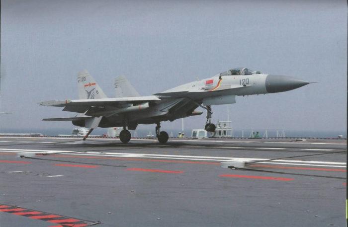«Цзянь-15», вооруженного двумя ПКР «Инцзи-83К»