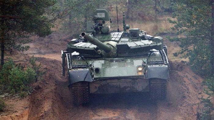 Танк Т-80 БВМ