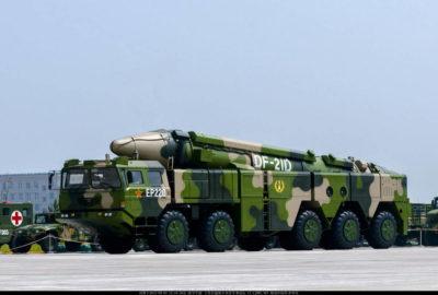 Противокорабельная ракета Китая DF-21D