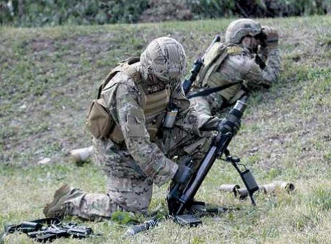 Стрельба с закрытой позиции