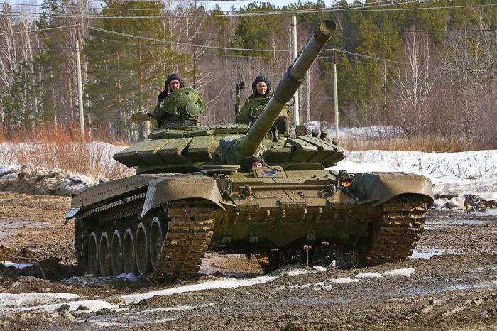 ОБТ T-72 Б3