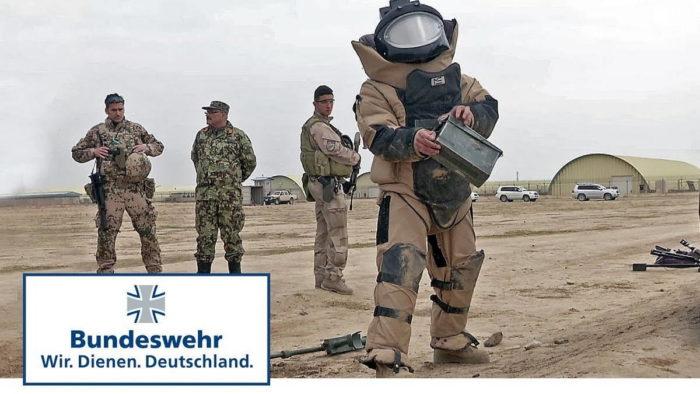 Тренировка по обезвреживанию боеприпасов