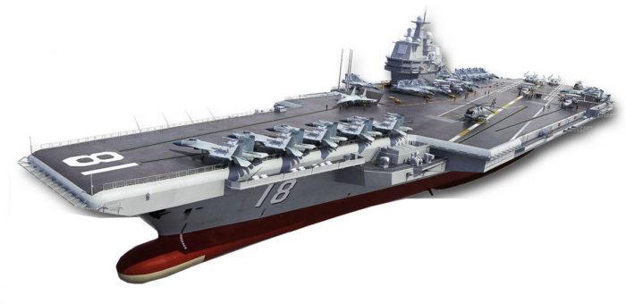 Перспективный авианосец ВМС НОАК