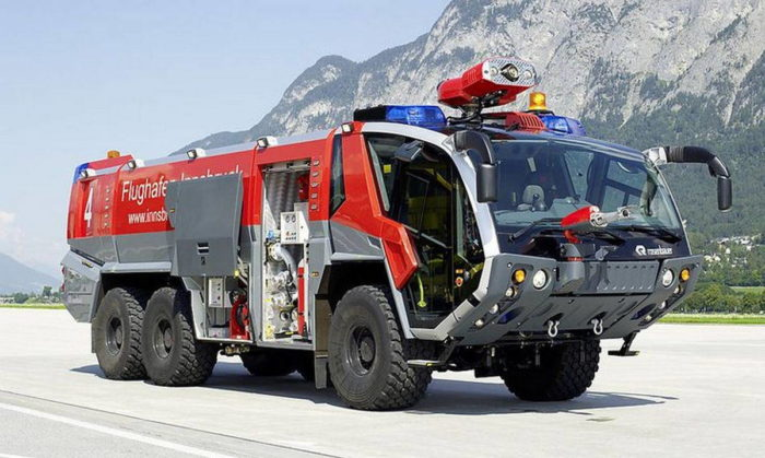 Современная аэродромная пожарная техника