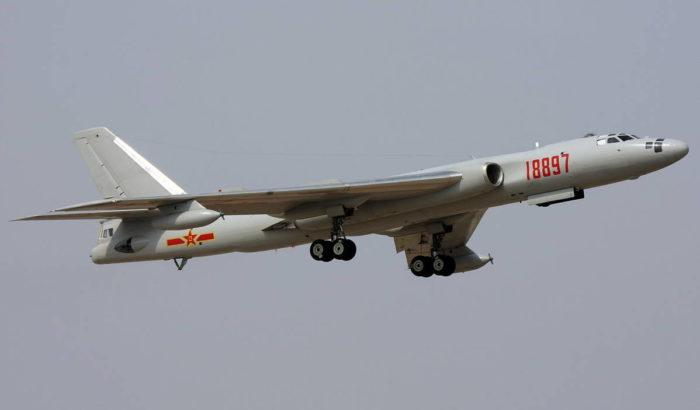 Бомбардировщик «Хун-6М»