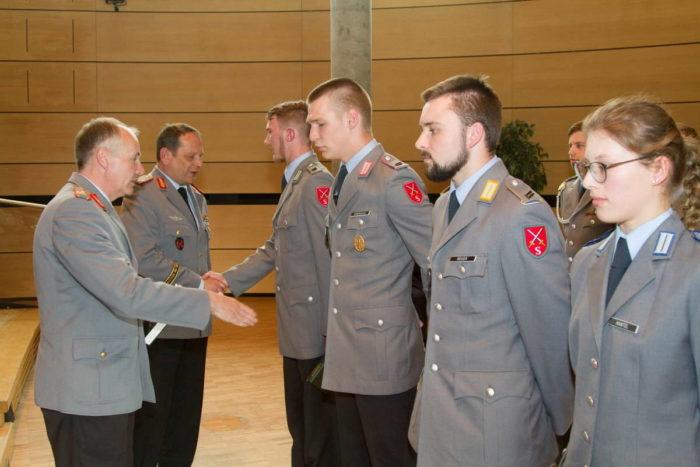 Присвоение звания лейтенант