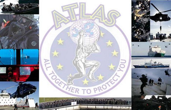 Эмблема сети ATLAS