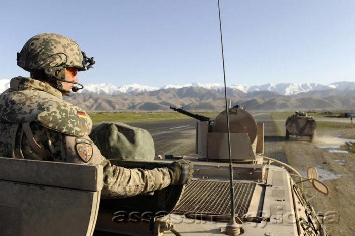 Конвой контингента бундесвера в Афганистане