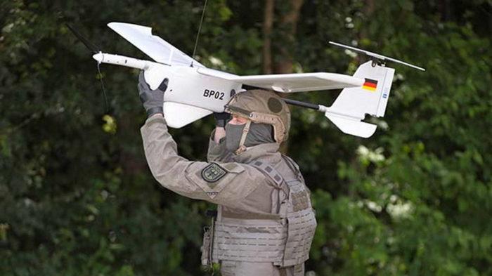 Использование БПЛА силами GSG 9
