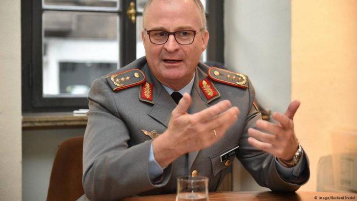Генеральный инспектор бундесвера Эберхард ЦОРН