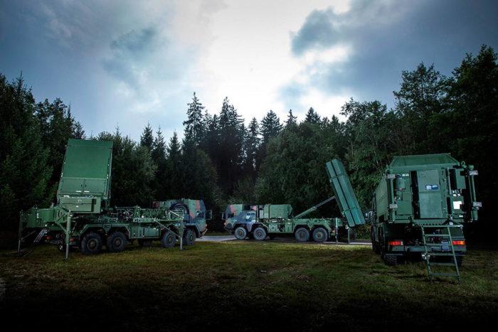 Тактическая система ПВО TLVS