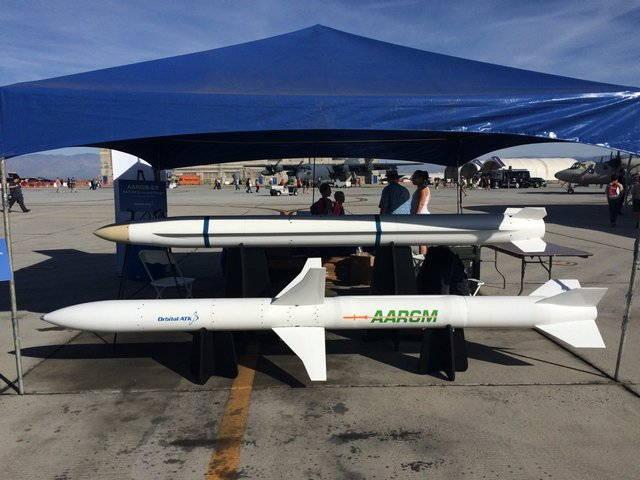 Противорадиолокационные ракеты AARGM и AARGM ER