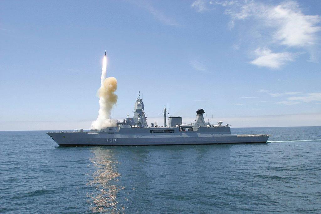 Вооружение ВМС Германии — перечень основных образцов