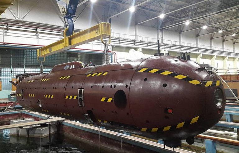 Необитаемые подводные аппараты военного назначения