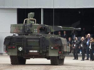 Список вооружений сухопутных войск бундесвера