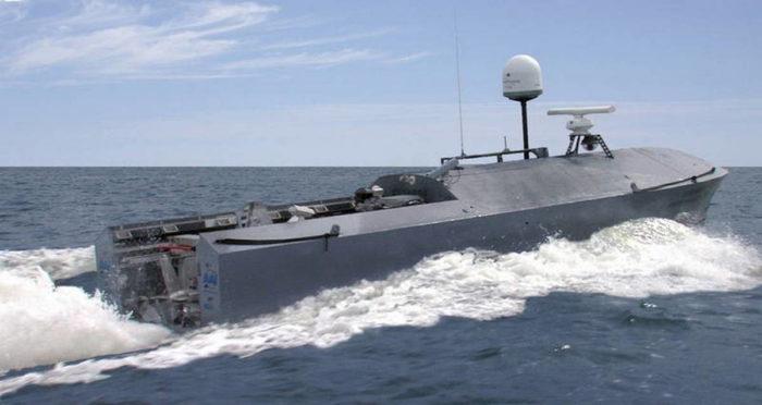 Надводный необитаемый аппарат CUSV производства США