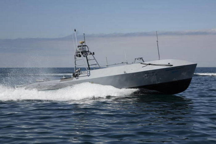 Надводный необитаемый аппарат CUSV