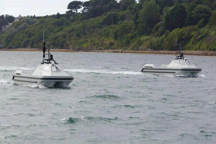 Две системы ARCIMS проходят испытания у побережья Дорсет - Atlas Elektronik