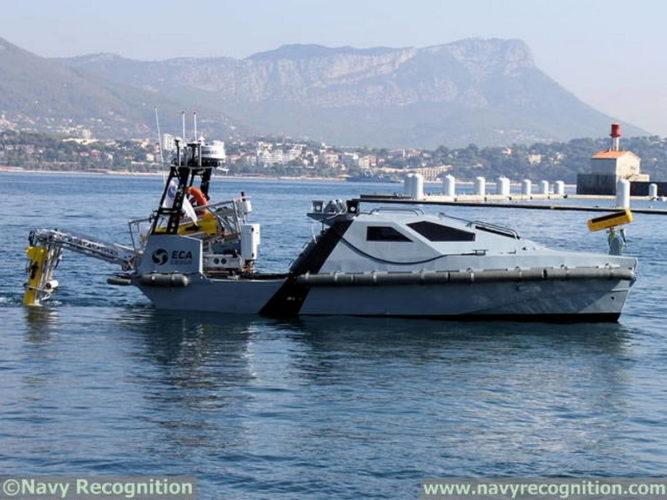 Надводный необитаемый аппарат MK2 от компании ЕСА