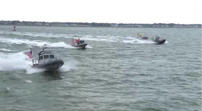 Надувные лодки с системой управления CARACaS на борту