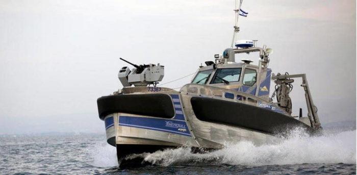 Надводный необитаемый аппарат SEAGULL