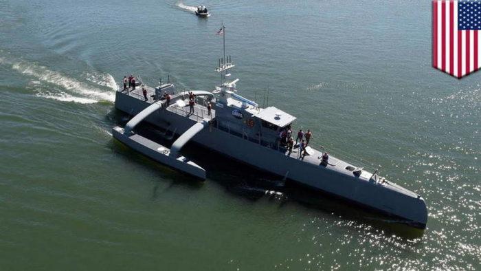 """Начало морских испытаний ННА """"Sea Hunter"""""""