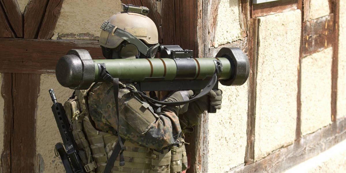 Новый гранатомет «Виркмиттель 90» официально передан бундесверу