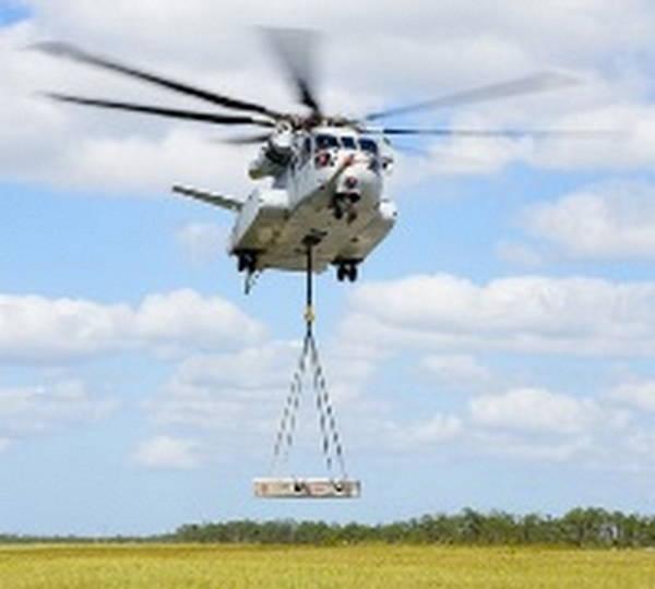 Новый тяжелый транспортный вертолет для бундесвера