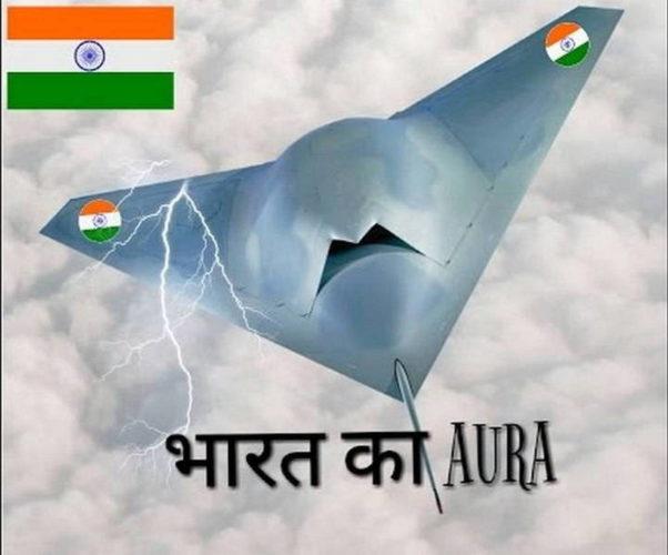 Перспективный индийский БПЛА Ghata