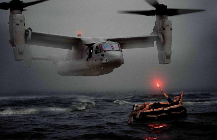 Эвакуация терпящих бедствие