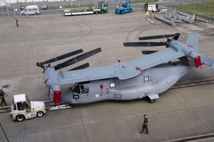 Трансформация V-22 Osprey