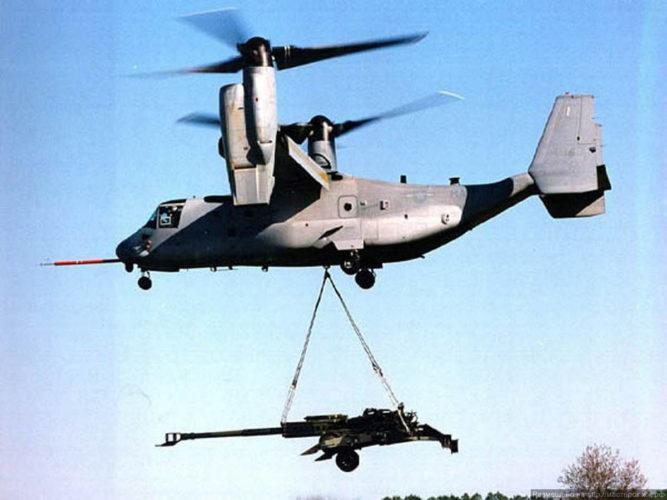 Внешняя подвеска V-22 Osprey
